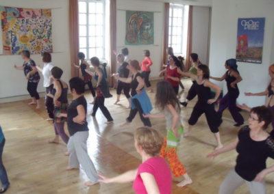Initiation danse moderne et contemporaine